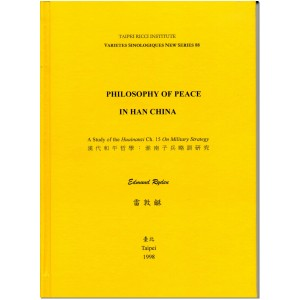 Philosophy of Peace in Han China by Ryden, E.